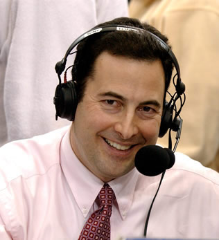 Tony Caridi, Mountaineers Play By Play Announcer